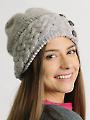 Frosty Cables Hat Knit Pattern
