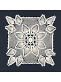 Square Pineapple Doily Crochet Pattern