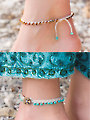 Toes in the Sand Anklets Crochet Pattern