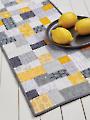 Mini Brick Road Table Runner Quilt Pattern