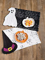 EXCLUSIVELY ANNIE'S QUILT DESIGNS: Halloween Place Mats Quilt Pattern