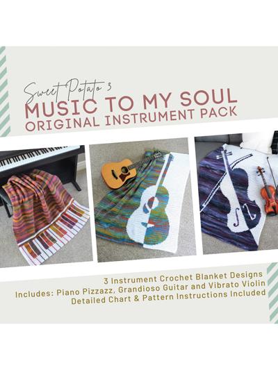 Music to My Soul Blankets Crochet Pattern