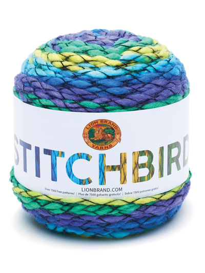 Lion Brand® Stitchbird Stitchbird Purple Martini