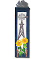 Windmill & Sunflower Wall Hanging Pattern with Hanger