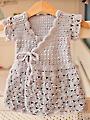 Lavender Wrap Crochet Dress Pattern