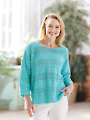 ANNIE'S SIGNATURE DESIGNS: Monsoon Knit Pullover Pattern