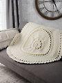 Christmas Rose Afghan Crochet Pattern & Kit