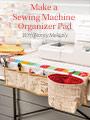Make a Sewing Machine Organizer Pad