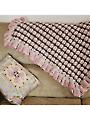 Ruffle Blanket Crochet Pattern