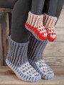 ANNIE'S SIGNATURE DESIGNS: Favorite Slipper Socks Crochet Pattern