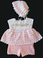 Jamie Baby Set Crochet Pattern Pack