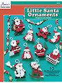 Little Santa Ornaments