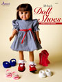18-Inch Doll Shoes - Plastic Canvas Pattern