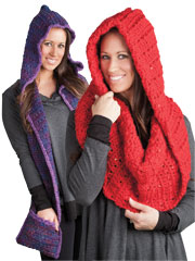Hooded Scarf  & Cowl