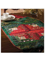 Christmas Logs Table Topper Pattern