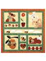 Bees, Bunnies & Bears Quilt Pattern