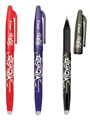 FriXion Ball Gel Pens-Heat Erasable 3/pkg.