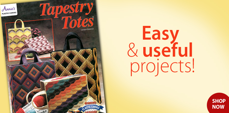Y913913 Tapestry Totes Plastic Canvas Pattern