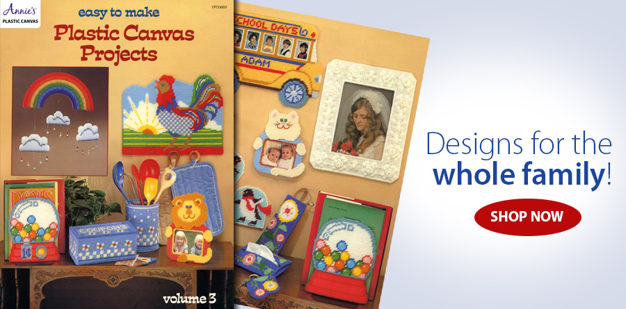 AP00668 Easy To Make Plastic Canvas Projects Pattern
