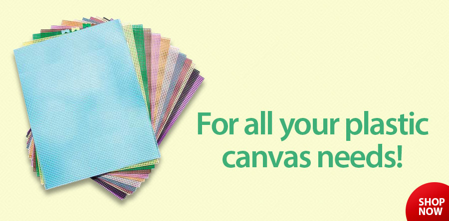 14990 7-Count Colored Plastic Canvas Sheets