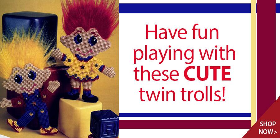 YP00634 Troll Twins