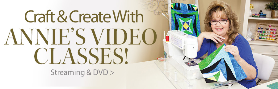 Craft & Create With Annie's Video Classes!