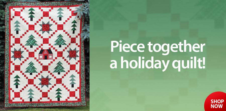 422640 Christmas Cottage Quilt Pattern