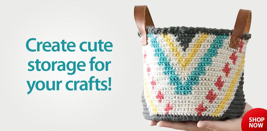 RAC2677 The Phoenix Basket Crochet Pattern