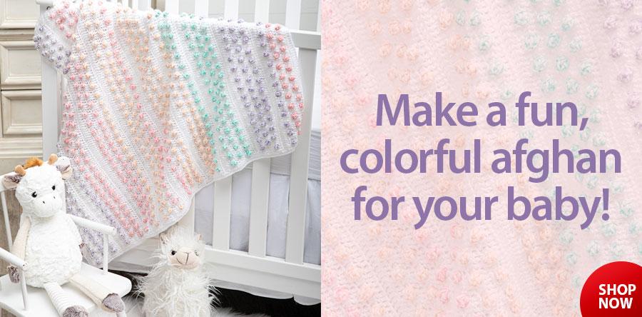 Confetti Baby Afghan Crochet Pattern