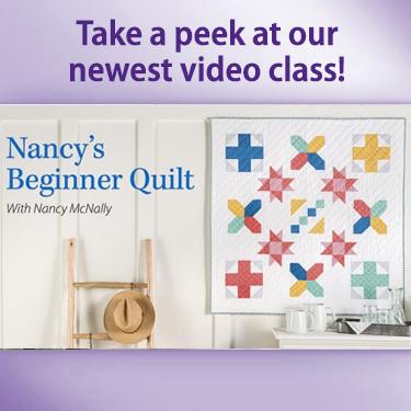 Nancy's Beginner Quilt
