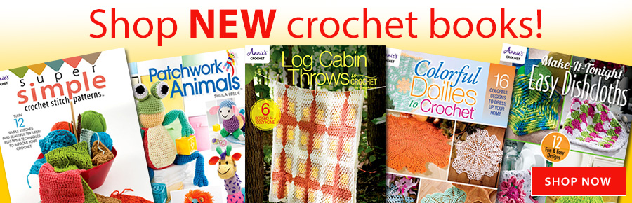 Shop NEW Crochet Books