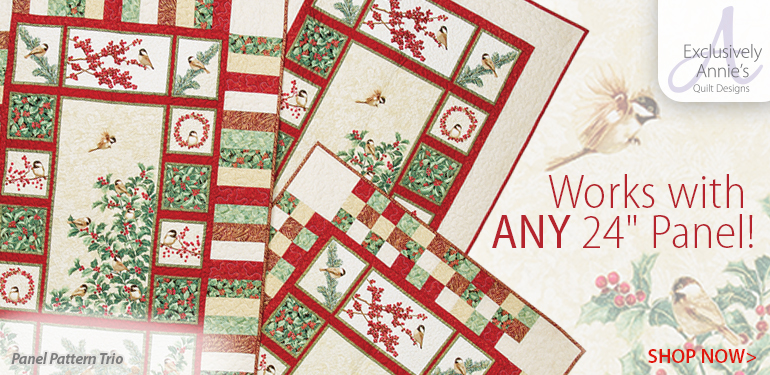 886143 Exclusively Annie's Panel Pattern Trio