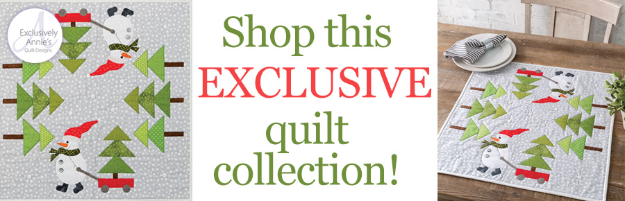 Shop this EXCLUSIVE quilt collection!
