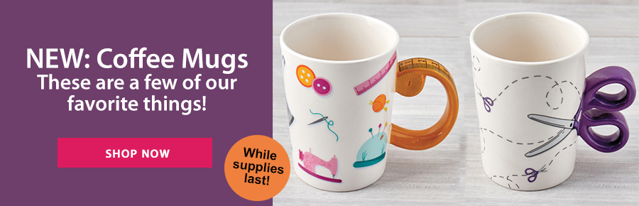 NEW: Coffee Mugs