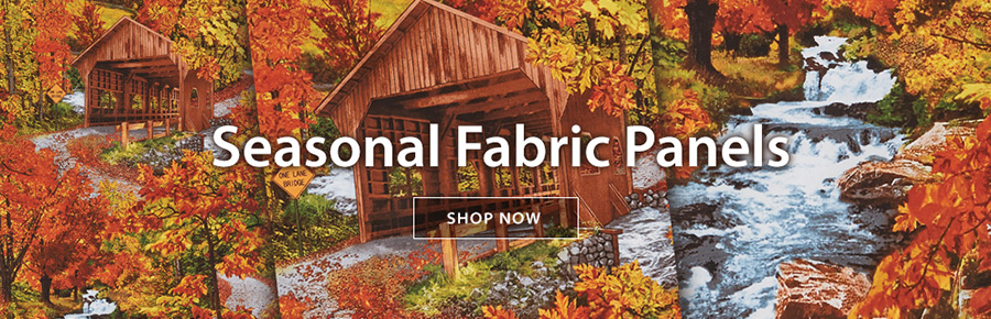 Fall Fabric Panel Banner