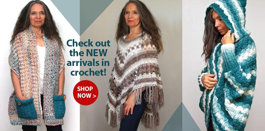 Y838285 Bella Ombre Poncho Crochet Pattern