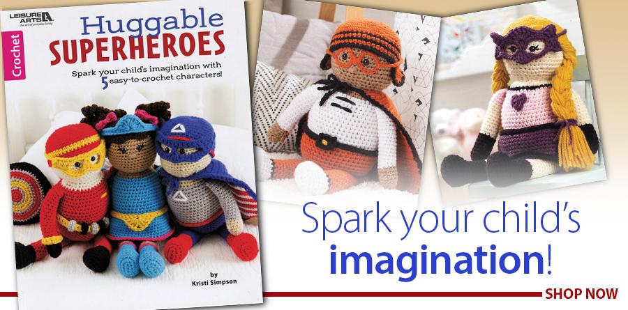 838386 Huggable Superheros Crochet Pattern