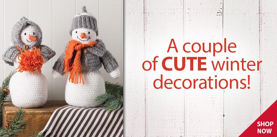YC04511 Snow Couple Crochet Pattern