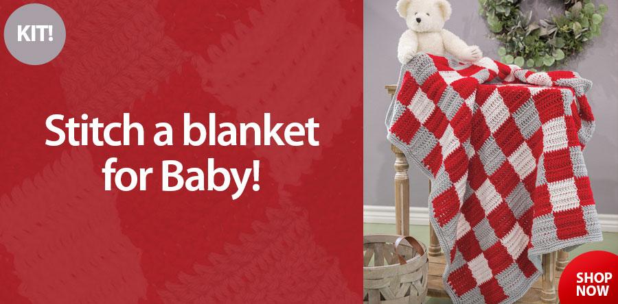 501189 Baby Snuggles Blanket Kit