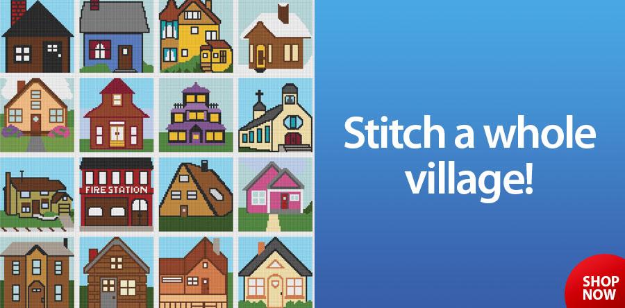 RAC2522 Village Crochet Pattern