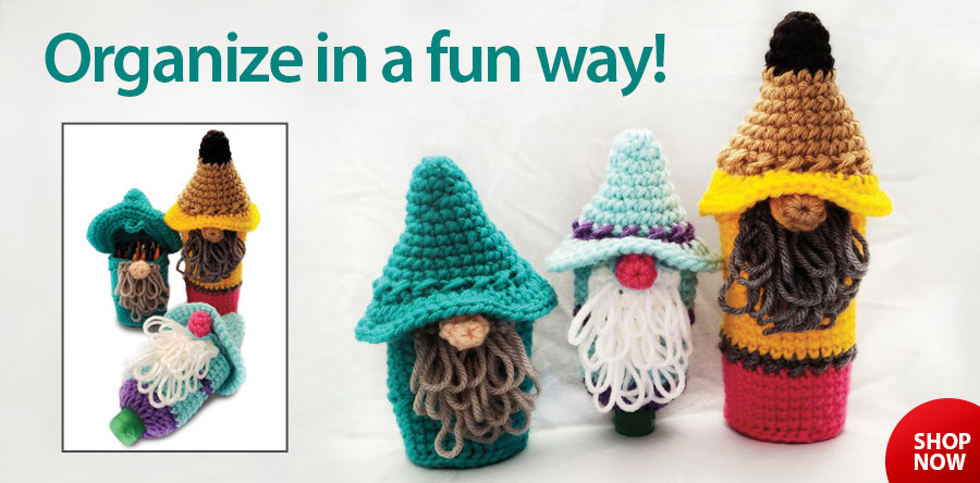 RAC2647 Gnome-or Clutter Crochet Pattern