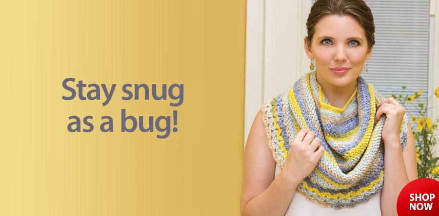 AC05238 Snug As a Bug Shrug Crochet Pattern