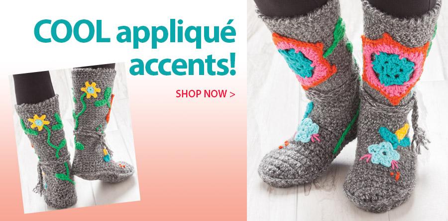 Cool applique accents!