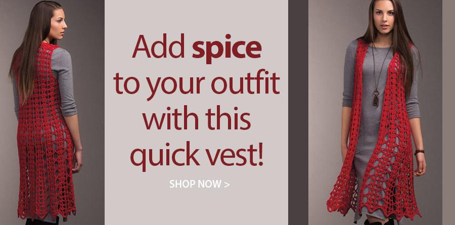 YC01977 Turning Leaf Vest