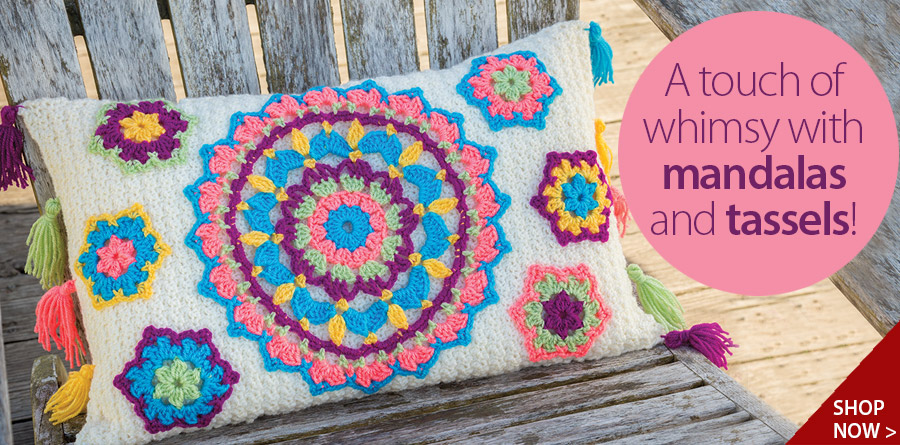Y886348 ANNIE'S SIGNATURE DESIGNS: Bliss Pillow