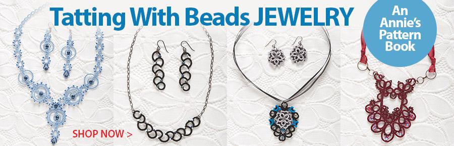 871638 Tatting With Beads Jewelry