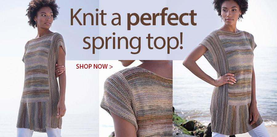 RAK1100 Gelato Tunic Knit Pattern