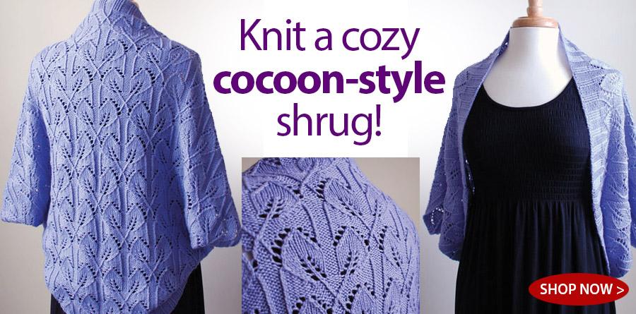 RAK1139 Salita Shrug Knit Pattern