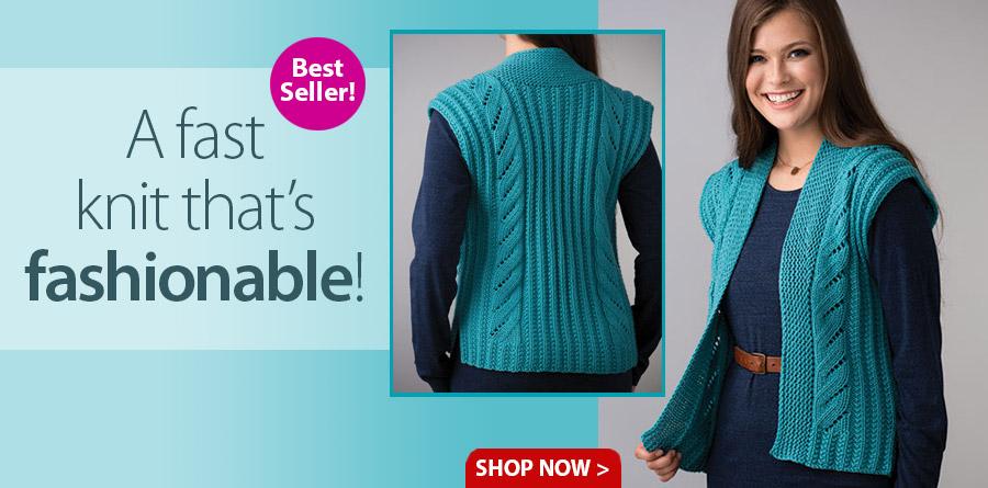 YK01267 Allyn Vest Knit Pattern