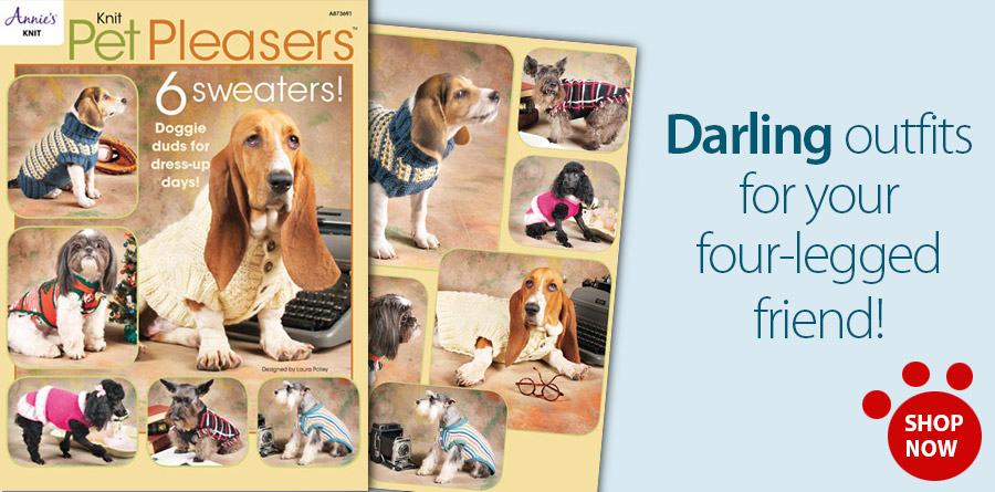 A873691 Knit Pet Pleasers
